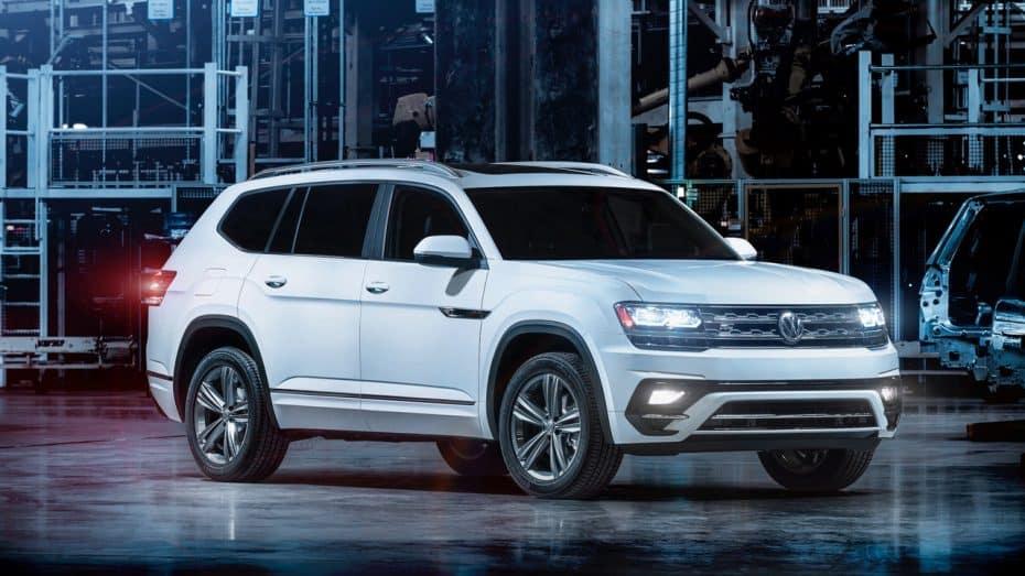 Paquete R-Line para el Volkswagen Atlas: Mejora un poco pero…