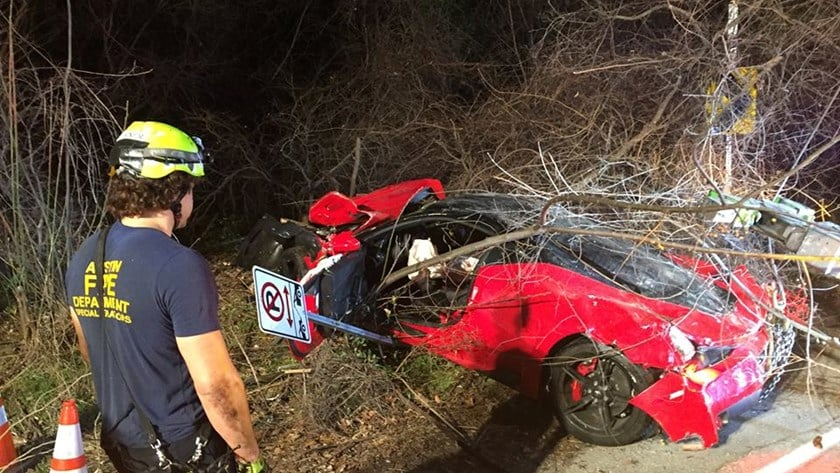 Accidente Ferrari 458 Speciale (1)
