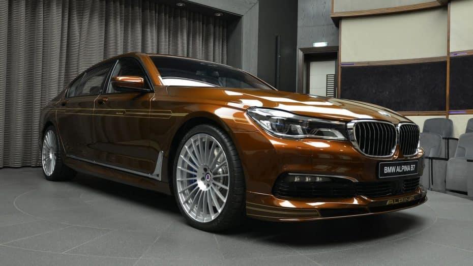 Este Alpina B7 es toda una muestra de que el color marrón no sólo es para coches aburridos