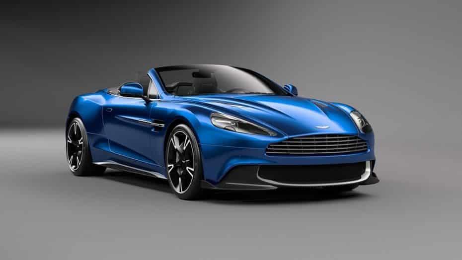 Aston Martin Vanquish S Volante: No solo es precioso, también es el último V12 atmosférico de Aston