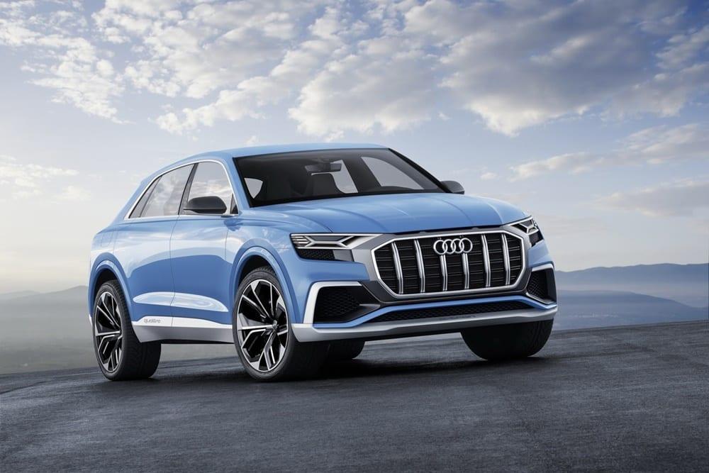 Ojo a la apuesta de Audi para el mundo de los grandes SUV coupés: El imponente Audi Q8 Concept