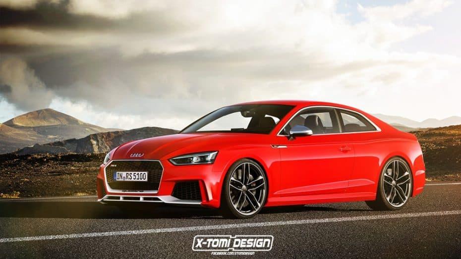 ¡Filtrado! Los Audi RS4 Avant, RS5 y RS5 Sportback, más potentes que un Porsche Panamera 4S