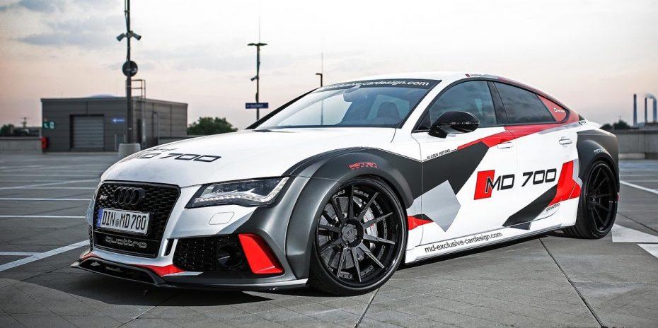 ¿Quién quiere un Audi RS7? Este kit transformará tu S7 en una bestia monstruosa que esconde 700 CV