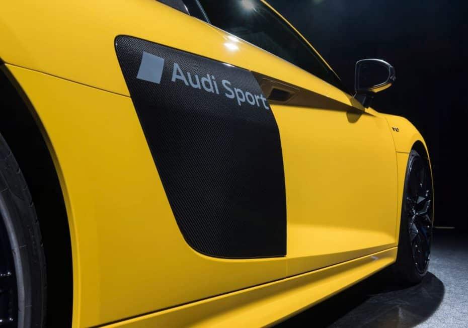 Audi dice adiós a pegatinas y vinilos con un nuevo sistema: ¿Tatuando la capa de laca?