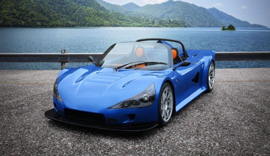 Pesa sólo 695 kg y atento porque puede montar el motor Ecoboost de 2.3 litros y 350 CV del Focus RS