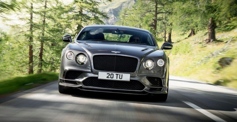 Bentley Continental Supersports: ¡Casi 3.000 kg de peso acelerando de 0 a 100 km/h en 3.5 segundos!
