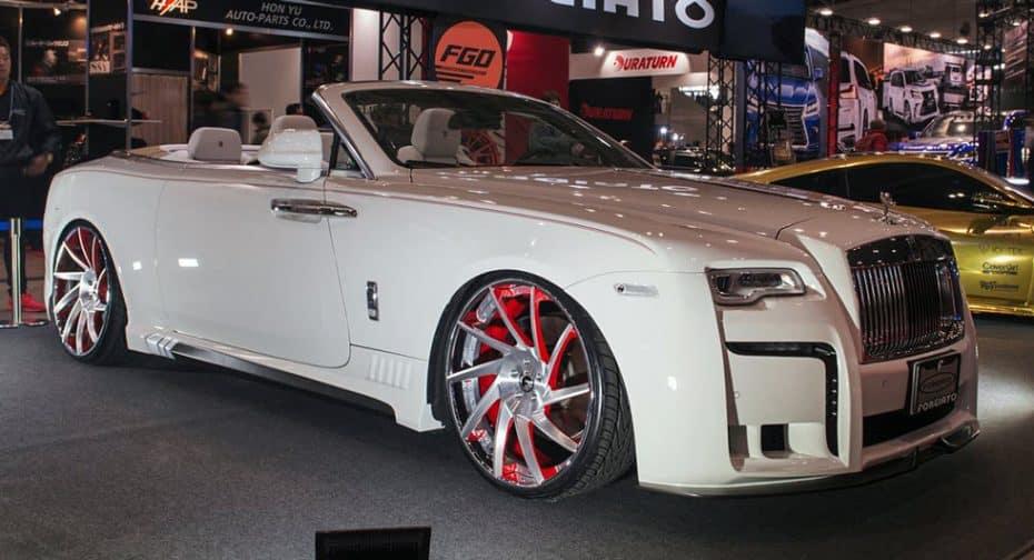¿Le harías esto a un Rolls-Royce Dawn? Pues es la estrella de Wald International en el Salón de Tokio