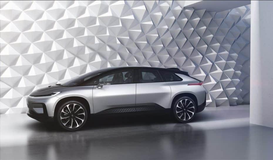El anti-Tesla ya es real: El Faraday Future FF 91 tiene 1.050 CV y autonomía a raudales