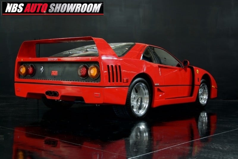 ¿Pagarías 12.000 euros por este Ferrari F40? A ver si te acuerdas de él…