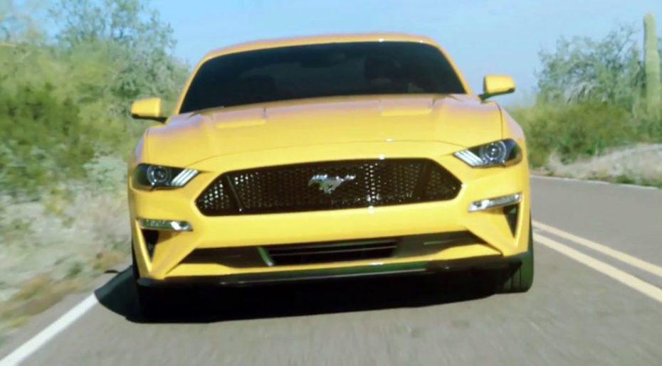 ¡Así es el nuevo Ford Mustang 2018! Este vídeo filtrado nos lo enseña al completo