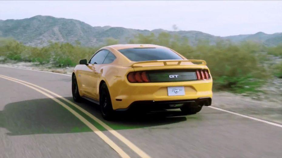 ¡Brutal! Así rugen el bloque V8 y el nuevo sistema de escape activo del Ford Mustang GT 2018