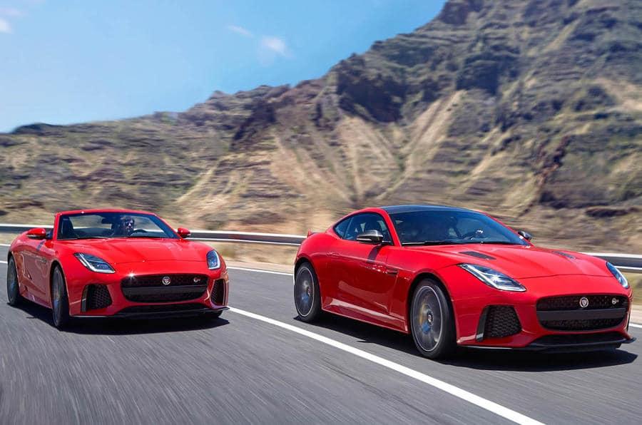 El Jaguar F-Type se actualiza: Leves retoques y nueva edición limitada F-Type 400 Sport