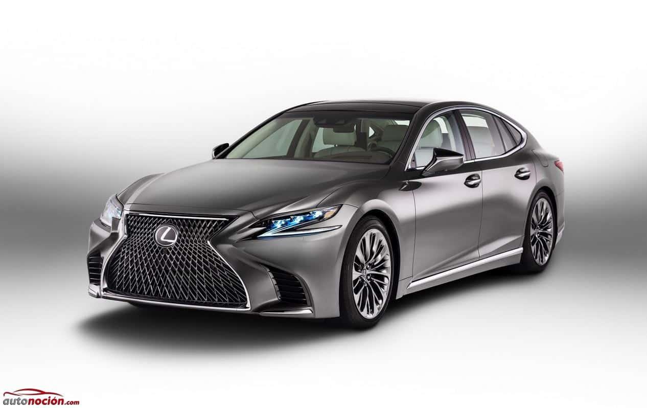"""Así es el nuevo Lexus LS: La quinta generación del """"Clase S"""" japonés…"""