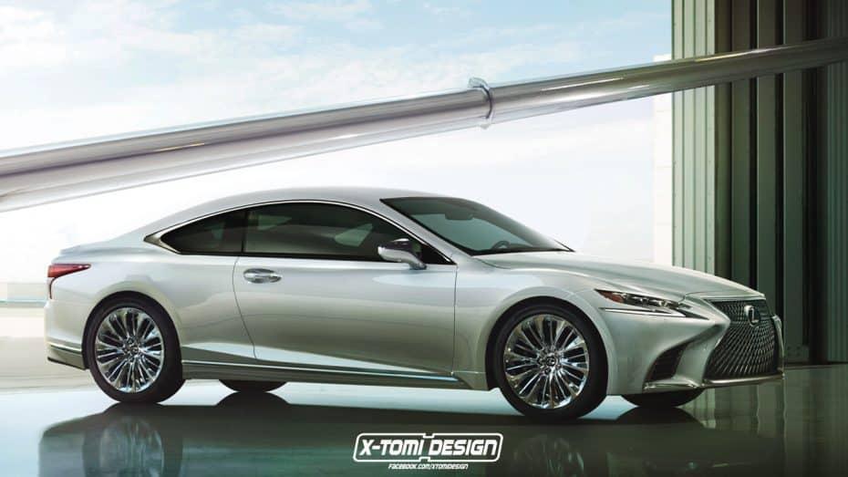 ¿Y si el Lexus LS 2018 tuviera una variante coupé? Sin duda sería un gran rival del Clase S Coupé