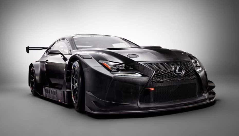 Lexus RC F GT3: Lexus y su nuevo rumbo en la competición durante 2017