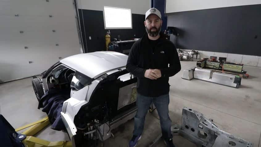 Parece prometedor: Este Lotus Evora eléctrico se está construyendo con piezas de un Tesla y un Volt
