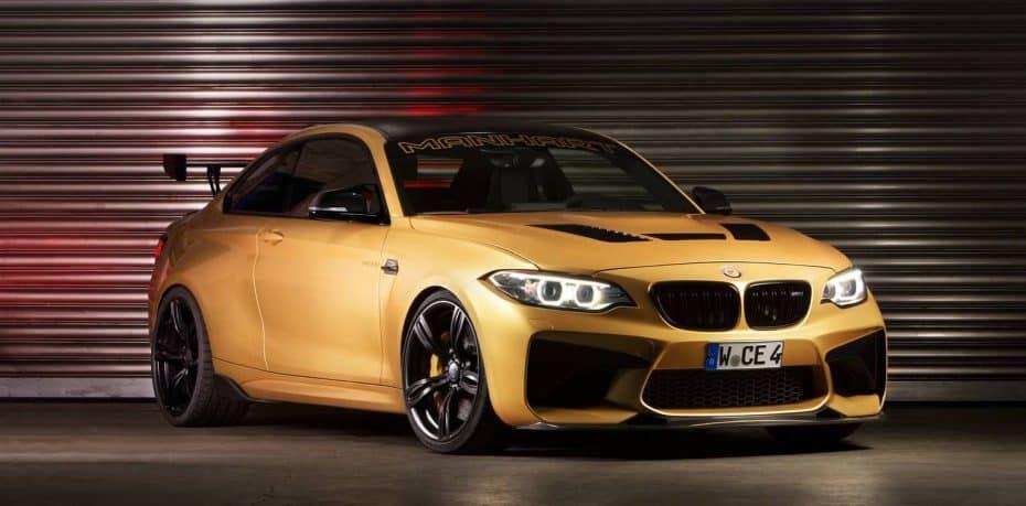 La monstruosa creación de Manhart sobre el BMW M2 ya es oficial: Ahora el bávaro con 630 CV