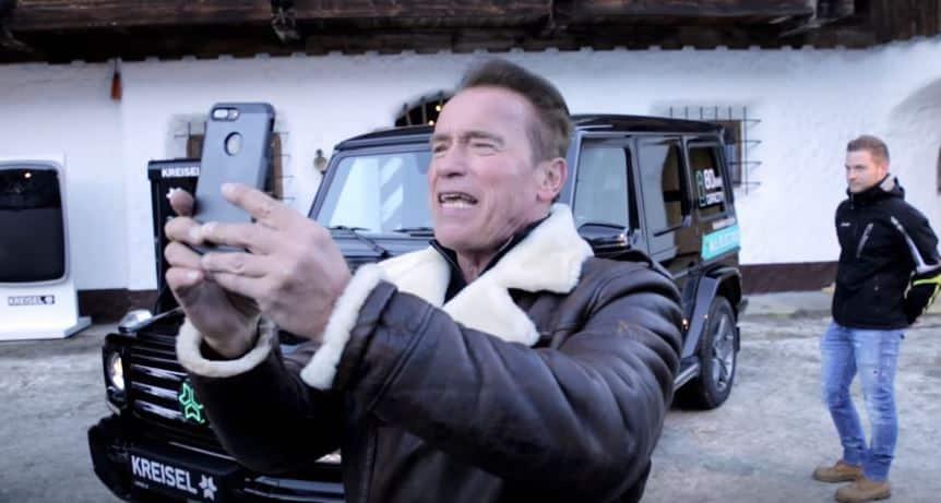 ¿Existe un Mercedes-Benz Clase G eléctrico? Arnold Schwarzenegger ya tiene el suyo