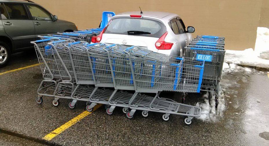 Sed de venganza en el aparcamiento del súper: Así se las gastan al otro lado del Charco
