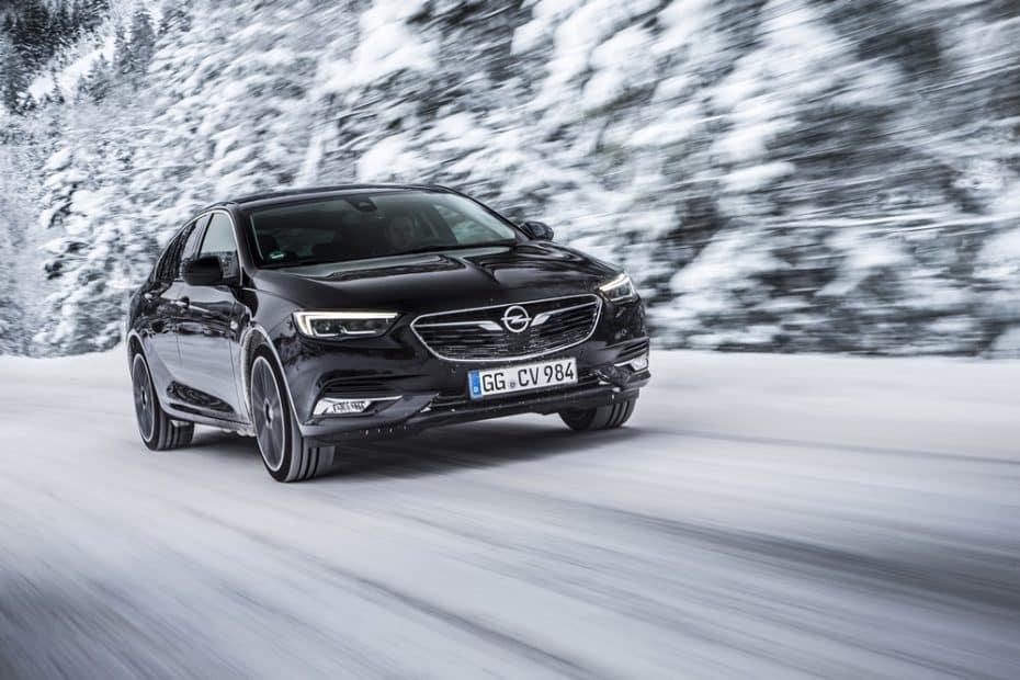 La tracción integral del Opel Insignia Grand Sport llegará con reparto vectorial del par