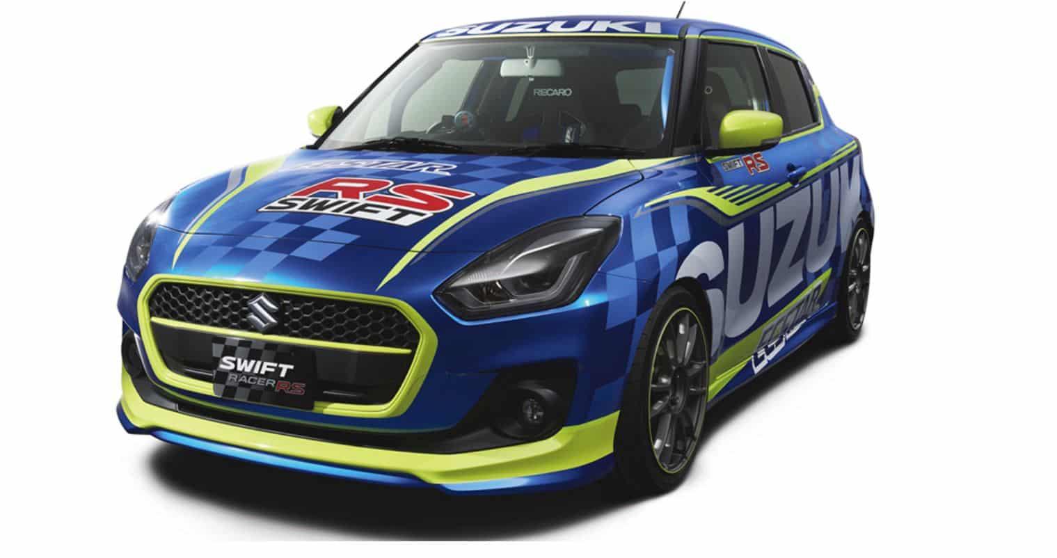 Suzuki nos muestra su escaparate para el Salón de Tokio: Atento al Swift Racer RS…