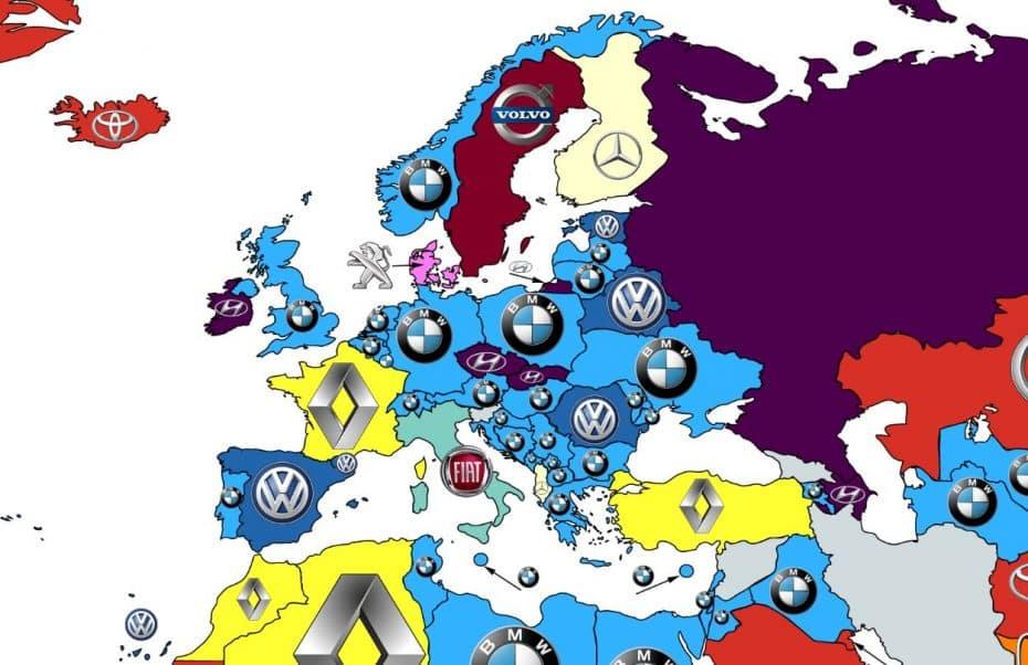 Estas son las marcas de coches más buscadas en Google país por país: ¿Sorpresas?