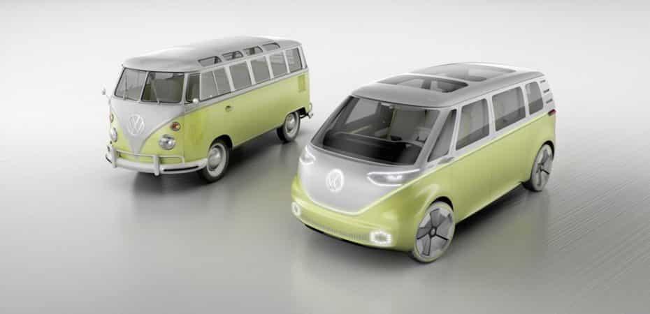 Volkswagen I.D. Buzz Concept: El renacer de un clásico en formato eléctrico y autónomo