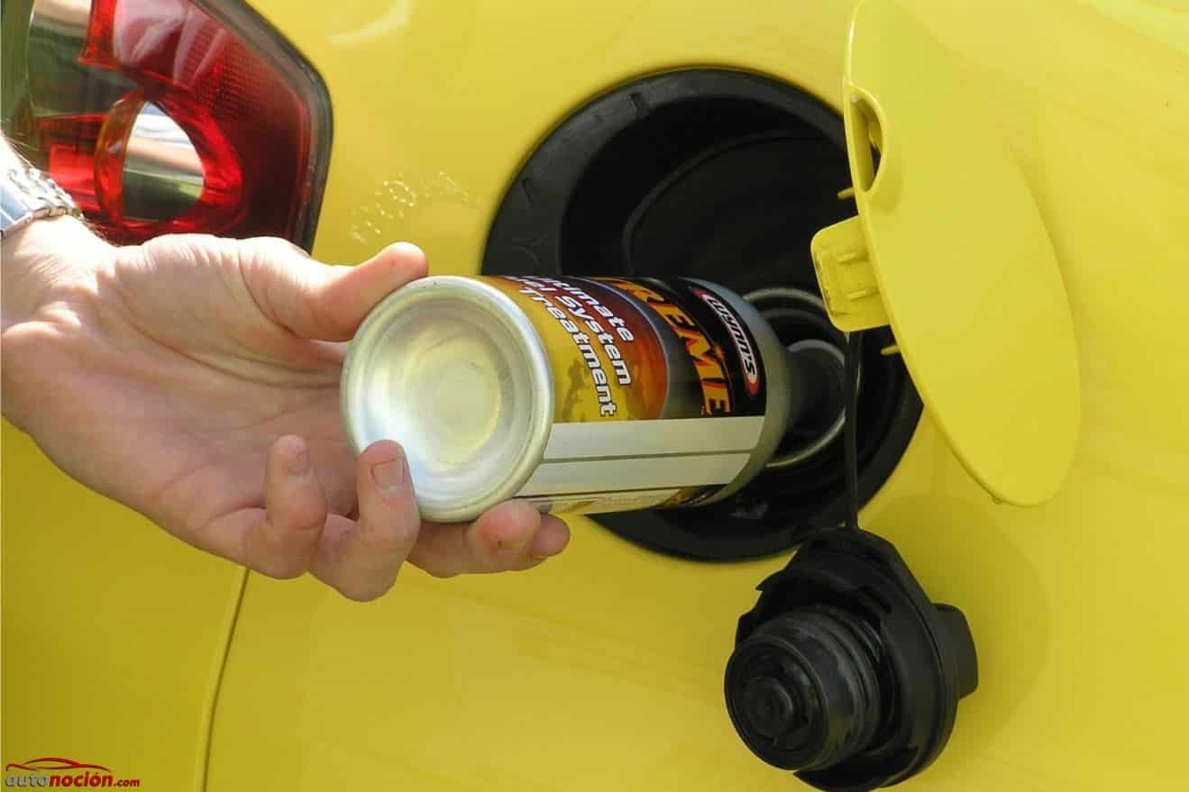 Puedes usar aditivos para reducir el nivel de carbón en el motor
