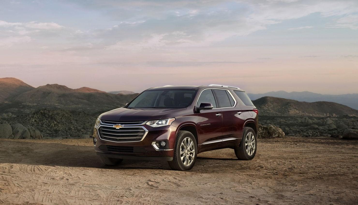 El Chevrolet Traverse estrena aspecto: No lo verás en Europa