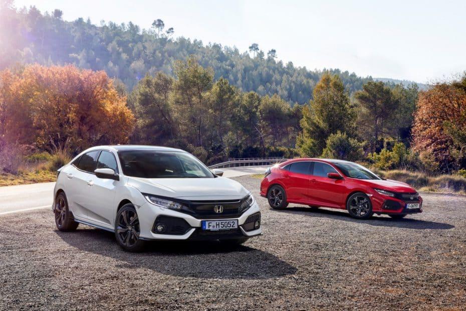Todos los precios del nuevo Honda Civic Hatchback: Por ahora sólo gasolina