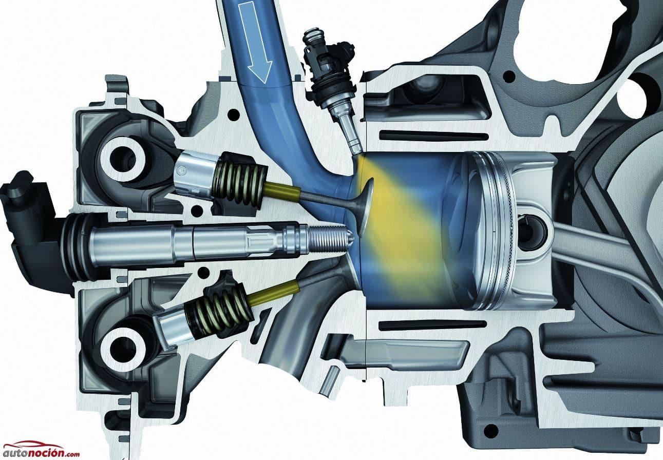 Pulverización de combustible diésel