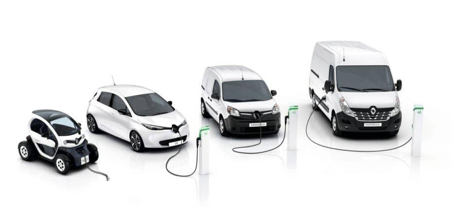 Renault presenta el Master Z.E. eléctrico y mejora el Kangoo «cero emisiones»