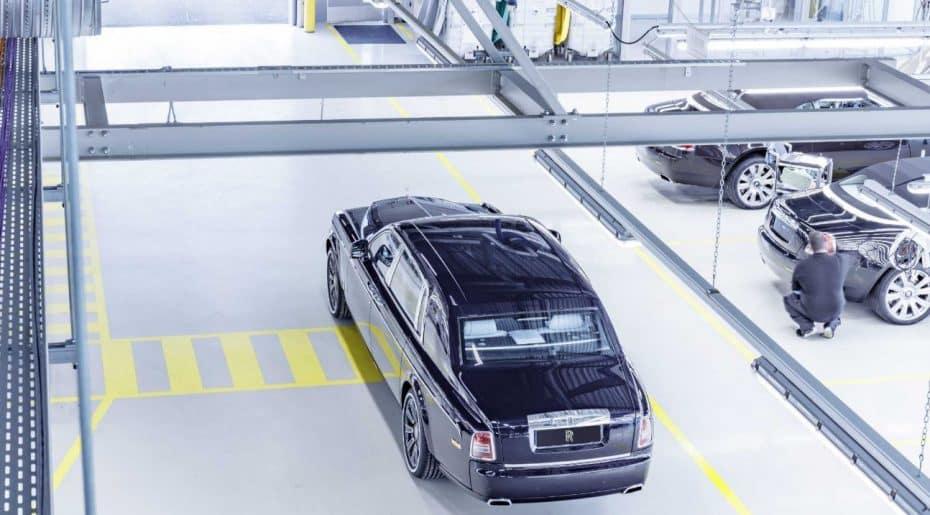 Bye, Bye al Rolls-Royce Phantom VII tras 13 años de producción…