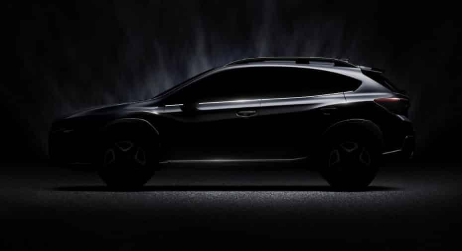 Primera imagen del nuevo Subaru XV: LLegará al mercado a finales de 2017