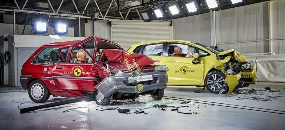 Las pruebas Euro NCAP cumplen 20 primaveras: Ya van dos décadas salvando vidas