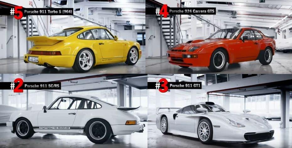 ¿Son estos los 5 modelos más raros y exclusivos de Porsche?