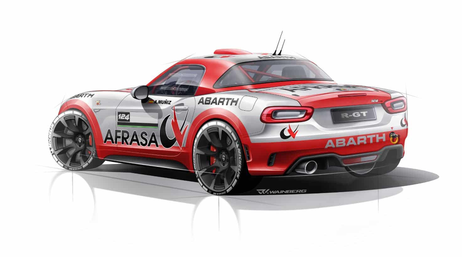 Abarth 124 Rally 3
