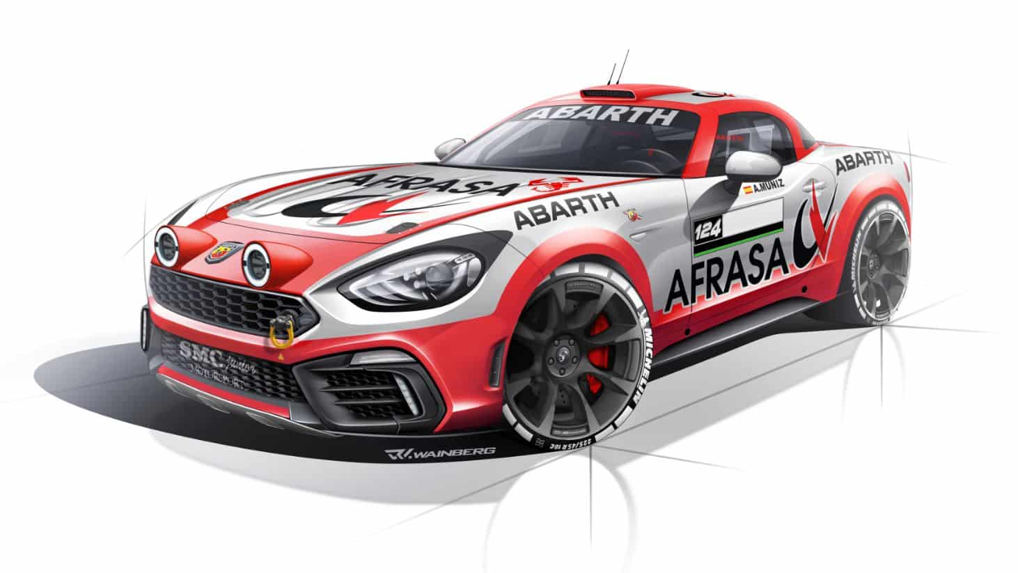 Abarth 124 Rally 4