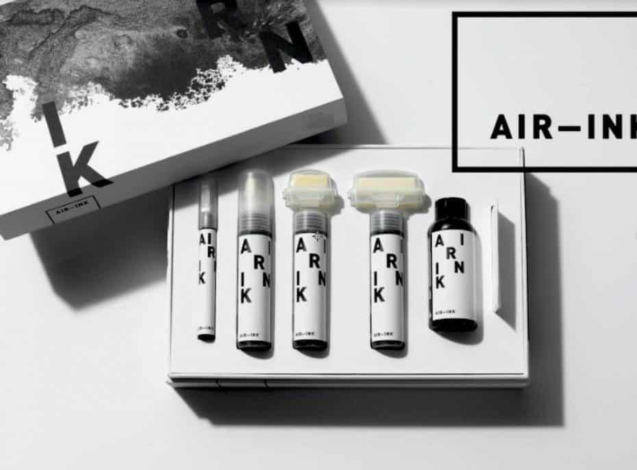 Esta start-up captura la polución del aire para transformarla en tinta, así es 'Air-Ink' ¿El rotulador del futuro?