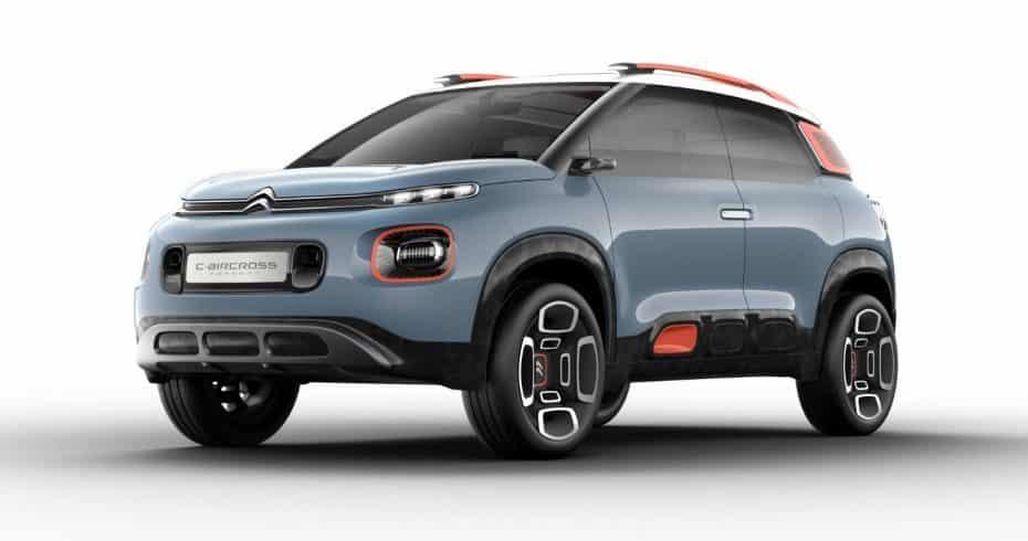 C-AIRCROSS Concept: La nueva ofensiva SUV de Citroën comienza aquí…