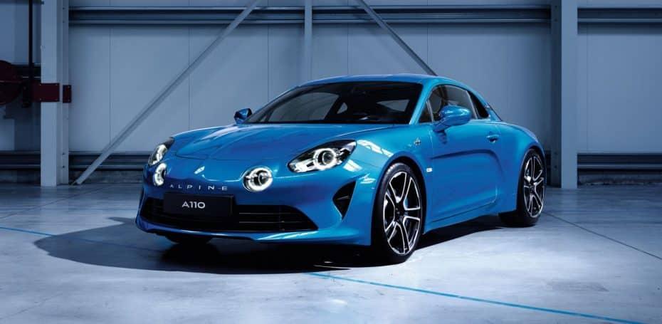 Alpine A110: Aquí tienes las primeras imágenes oficiales del modelo de producción