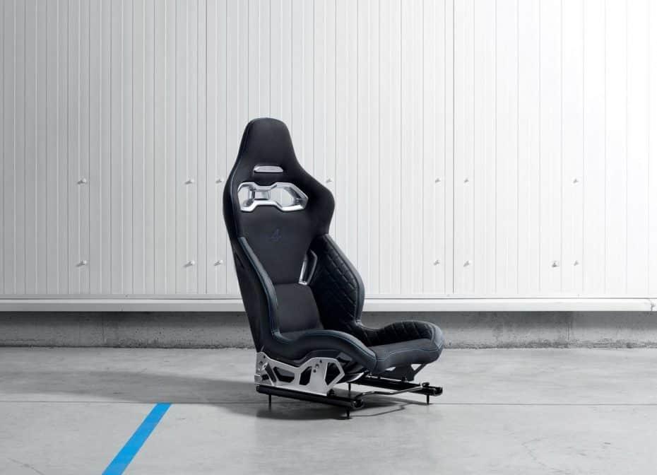 No es un asiento para jugar a la consola, es el que equipará el nuevo Alpine A120 y es muy ligero…