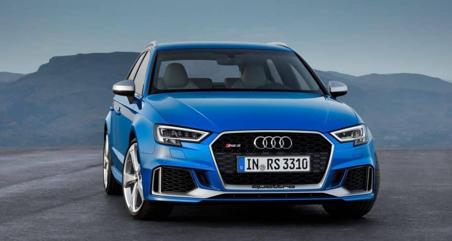 Audi RS 3 Sportback: Un «jaque mate» salvaje con 100 CV por aro…