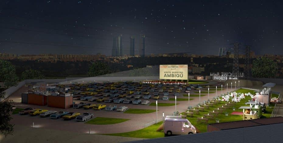 La próxima semana abre el autocine más grande de España ¡Y el primero de la Capital!