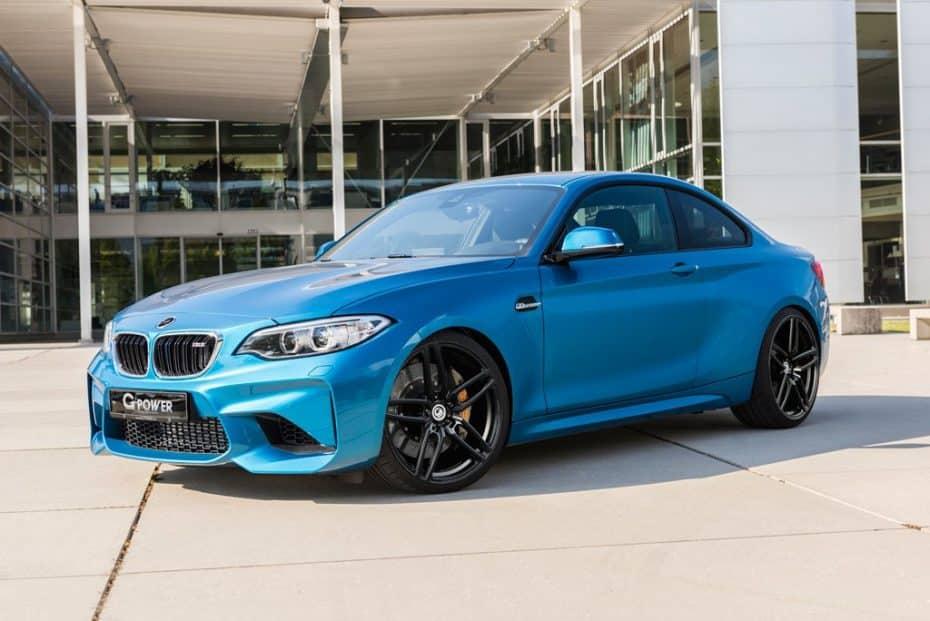 ¿Tu BMW M2 de serie no es lo suficiente radical? Ahora G-Power lo transforma en esta bestia de 410 CV