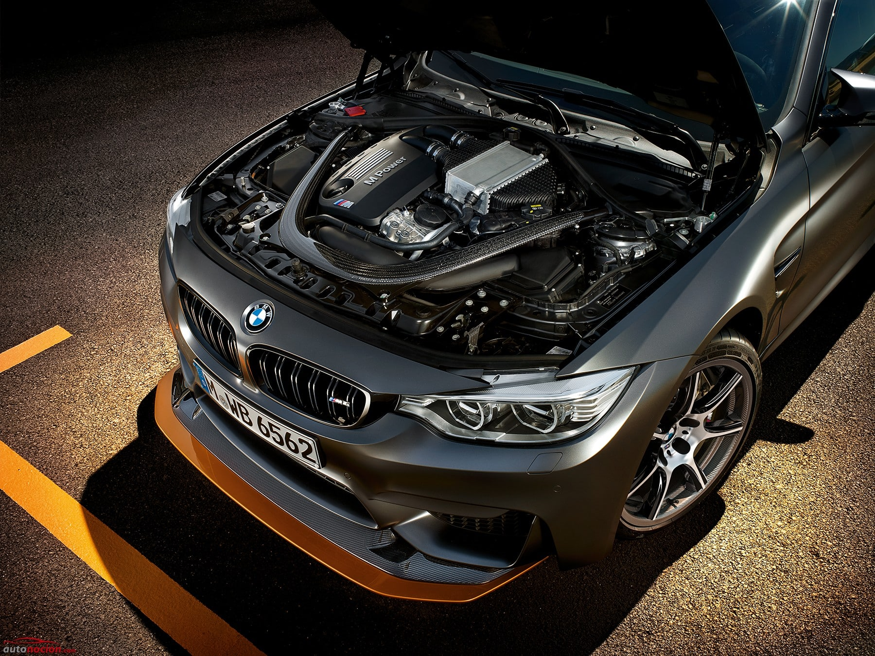 BMW M4 GTS Detalle de motor