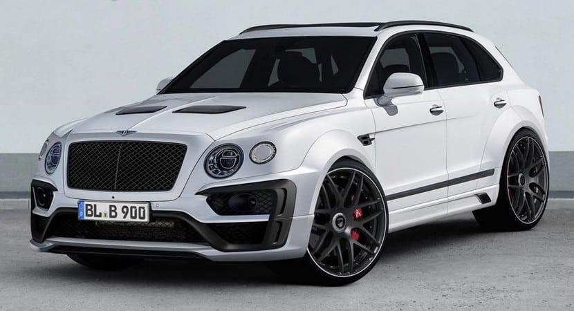 Lumma Design apuesta por el Bentley Bentayga: Mucha fibra de carbono y sobredosis de potencia