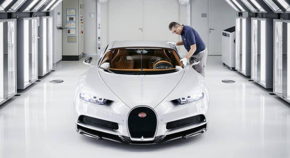 Ni los mejores se libran de las llamadas a revisión: 47 Bugatti Chiron tendrán que pasar por el taller