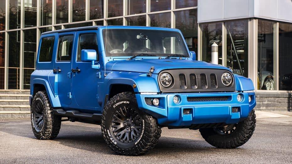 Kahn Design lo ha vuelto a hacer: Así es su Jeep Wrangler Black Hawk Edition 'Volcanic Sky'