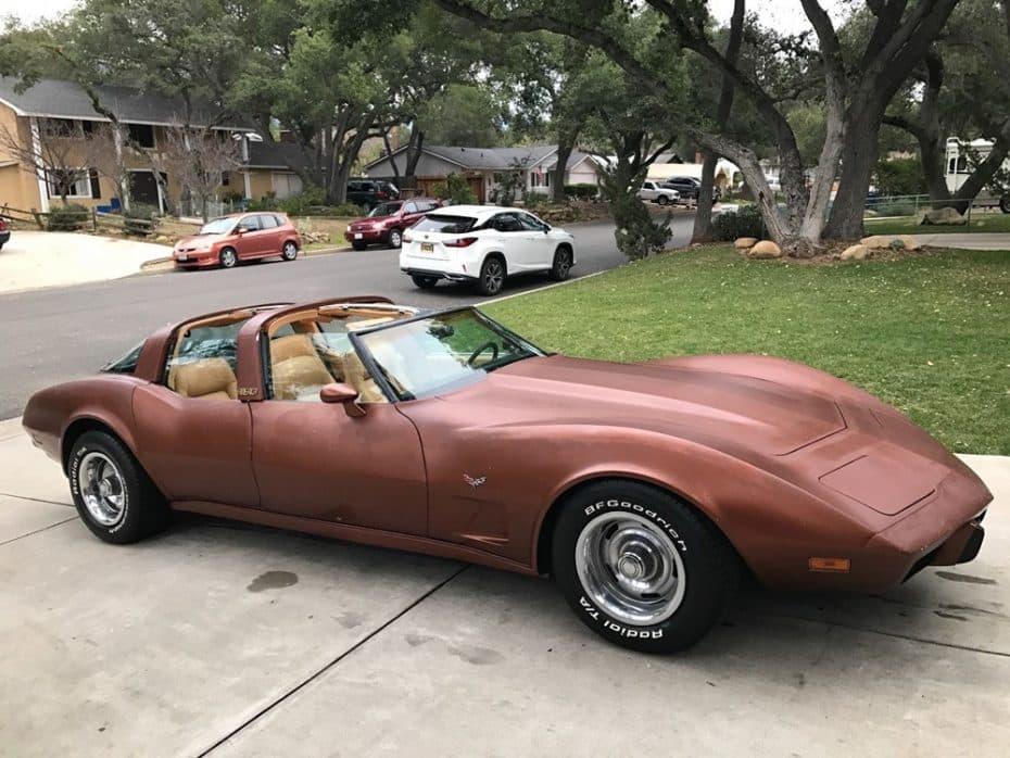 ¿Sacrilegio o genialidad? Este «1 of 6» Chevrolet Corvette AMERICA está a la venta en eBay